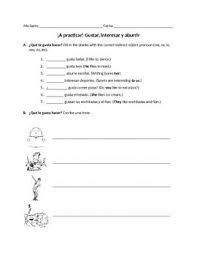spanish ir a infinitive worksheet expressions with infinitives worksheets spanish and. Black Bedroom Furniture Sets. Home Design Ideas