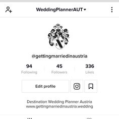 Since there are no weddings happening at the moment I use my time to gain more knowledge about all sorts of things. One is TikTok 😁 Check out my profile and I would be delighted about a follow. All age groups welcome ;) Getting married in Austria is for everyone! 🇦🇹❤🇦🇹 ➡️ Link in bio! ⬅️ . . . . #stressfreeweddingsbysandram #gettingmarriedinaustria #destinationwedding #austria #destinationweddingaustria #weddingplanner #weddingplannersalzburg #weddingplanneraustria #weddingplannerlondon… Destination Wedding Planner, Salzburg, No Time For Me, Austria, Getting Married, Gain, Knowledge, Profile, In This Moment