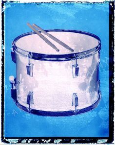Hey, I found this really awesome Etsy listing at https://www.etsy.com/listing/125708520/blue-drum-art-print-drummer-gift-11-x-14