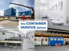 CONTAINEX offers portable cabins, sanitary cabins, storage containers, shipping containers as well as modular buildings for immediate use. Portable Cabins, Storage Containers, Building, Videos, Photos, Instagram, Storage Bins, Pictures, Buildings