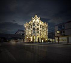 4711-Haus bei Nacht, Köln / #Cologne ©MÄURER & WIRTZ GmbH & Co. KG