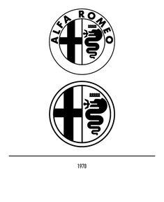 Marchio Alfa Romeo del 1970