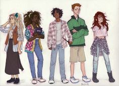 90's Harry Potter Cast, this is my favorite thing ever. Race-bent Hermione is the best.