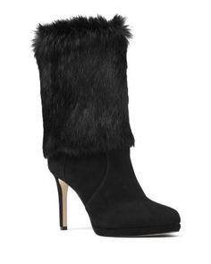 bb64cdfebfd9 Faye Genuine Rabbit Fur Sandal