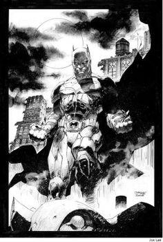 The Dark Knight Batman by Jim Lee