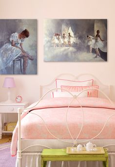 Bring the whimsical and elegant art of classical ballet into your home with these dance themed prints.