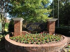 neighborhood entrance signs - Google Search Driveway Entrance, Entrance Sign, Entrance Ways, Townhouse Landscaping, Monument Signage, Outdoor Signs, Outdoor Decor, Circle Driveway, Boone Hall Plantation