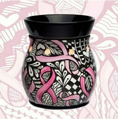 Scentsy's new charitable cause warmer for Fall / Winter 2014 - Ribbons of Hope! #BreastCancer #Survivor  I HAVE TO HAVE THIS!!!!!