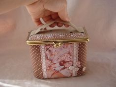 Gallery.ru / Photo # 32 - wallets 5 - Vill65 Clutch Tutorial, Frame Purse, Pouch, Wallet, Decorative Boxes, Lunch Box, Coin Purse, Purses, Lace