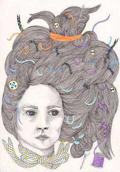 Bad Hair Day III  by Samantha Dolan