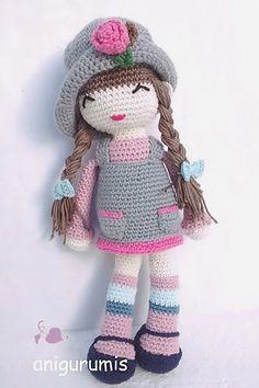 Amigurumi Doll Pattern - Best Knitting Amigurumi Doll Pattern – Best Knitting Patrón De Muñeca Amigurumi – Best Knitting Source by Crochet Dolls Free Patterns, Crochet Doll Pattern, Amigurumi Patterns, Amigurumi Doll, Doll Patterns, Love Crochet, Crochet Gifts, Crochet Toys, Crochet Baby