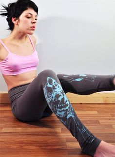 These luxurious lighter weight leggings are super stylish and ultra comfortable. The bamboo fabric is incredibly soft and extremely stretchy. With these leggings we suggest that they are worn as a layering piece as the jersey can have a sheerness as it stretches. The high waist band offers maximum comfort but can also be folded down for a low rise look. We leave the bottoms un-hemmed and reinforce the seam so that you have to option to trim to your desired length. One of our first and most…