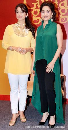 #MadhuriDixitNene #JuhiChawla and Anubhav Sinha at the launch of 'Believe' campaign for women - Bollywoodlife