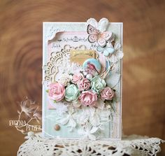 Specialists in Mulberry Paper Flowers, Pins, Lace, Crystals, Ribbon and lots of other gorgeous craft items Card Tags, I Card, Flower Cards, Paper Flowers, Shabby Chic Cards, Wild Orchid, Purple Roses, Rose Bouquet, Paper Cards