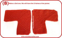 Crochet hexagon jacket/Crochet hexagon sweater - use the concept for a knitted jacket!!