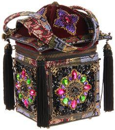 Mary Frances Square Box Handbag.