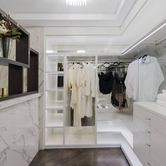 The Ultimate in Luxury Living! Our walk through dressing room in our multi award winning Applecross Display Home. View more.