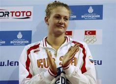 Natalia Lovtsova became the third Russian swimmer to be banned for doping in two days on Saturday when she was found guilty of breaching anti-doping regulations by the country's anti-doping agency, RUSADA.  Lovtsova, 24, a member of the Russian 4x100-meter freestyle relay team at last year's London Olympics, was banned for 2 1/2 years starting from Nov. 30, 2012, the agency said on its website.