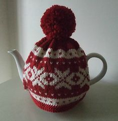 A gorgeous Nordic inspired tea cosy