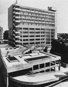 Shops, Offices and Flats, Swiss Cottage, London 1964
