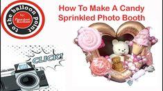 Candy Sprinkled Balloon FotoBooth Tutorial video No 5 Candy Sprinkles, The Balloon, Step By Step Instructions, Art Tutorials, Diy Tutorial, Girl Birthday, Balloons, Make It Yourself, Bouquets