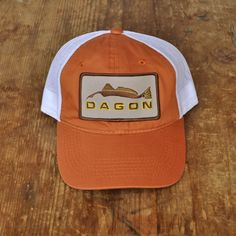Brown Border Patch Hat