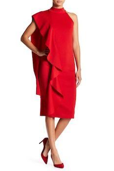 Gracia Layered Ruffle Detail Sleeveless Dress