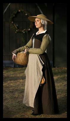 Late 16th, early 17th century clothing