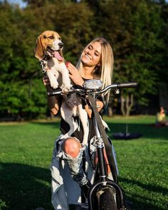 What an amazing girl. Oh and great looking hound.