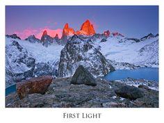First Light: Los Glaciares National Park, Argentina