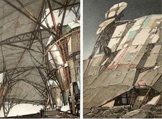Lebbeus Woods – War and Architecture | Graphicine