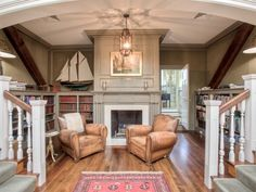 Carriage House Library | Cool Houses Daily