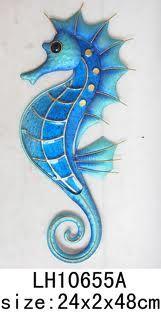 Fused Glass Seahorse
