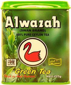 AlwazahSwan Brandgreen tea, 100% pure ceylon Full-Size Picture