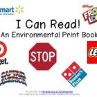 FOR DONNA :) - This is great for the boys! Here's a book of 42 environmental print pictures - including familiar stores, characters, restaurants and more! Use this to give your pre-readers s. Preschool Logo, Preschool Literacy, Kindergarten Lessons, Early Literacy, Environmental Signs, Education And Literacy, Apraxia, Teaching Time, Emergent Readers