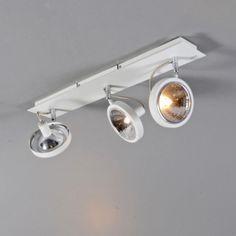 Spot Nox 3 wit - Plafondlampen - Binnenverlichting - Lampenlicht.nl
