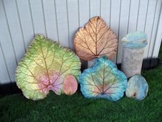 Learn to make cement leaves here: http://cubits.org/craftycubit/thread/view/15448/