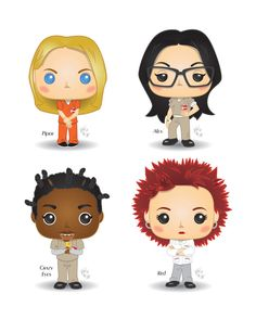 Funko Pop! - Orange is the New Black by CBeeProject.deviantart.com on @DeviantArt