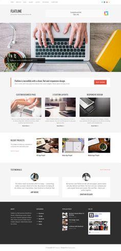 FlatLine WordPress Theme - Theme Junkie