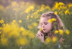 Spring field, rapeseed, children, magic moments, photography, canon,