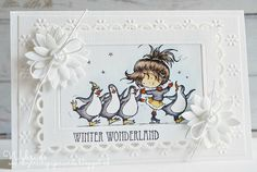 Don & Daisy: Winter wonderland Marianne Design, Winter Wonderland, Daisy, Christmas Cards, Frame, Decor, Christmas E Cards, Picture Frame, Decoration