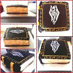 Skyrim cake made by me
