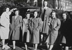 Elinor Stuart Taylor Hough, class of '48. Passed away on March 21, 2016 at the age of 89. Featured here with Street, R., Stevens, E., Thorpe, Wagner, Thomas, A., Smith, J., Taylor, S.  http://www.legacy.com/obituaries/woonsocketcall/obituary.aspx?n=elinor-stuart-hough-taylor&pid=179486708&