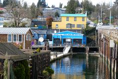 Gibsons, B.C. - 40 minute ferry ride from Horseshoe Bay to Langdale ($14 per passenger return)