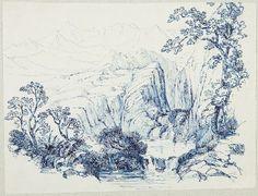 Charles Howland Hammatt Billings, In the Himalaya Mountains, 1842, Harvard Art Museums/Fogg Museum.