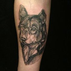 #brucius #blackandbluetattoo #bruciustattoo #etching #penandink #tattoo #wolf