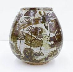 Rudy Autio (1926-2007 Montana) Early Stoneware Vase