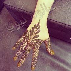 Arabic style henna