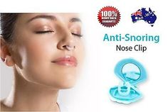 Brand New Anti-Snoring aid stop snoring anti snore night sleep nose silicon