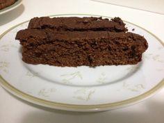 Bolo de chocolate da Dani (com fibra de soja)